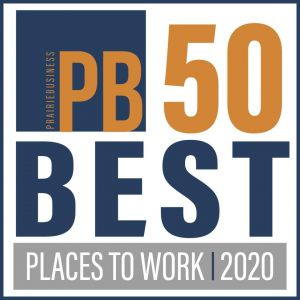 Prairie Business Magazine publishes 2020's 50 Best Places to Work